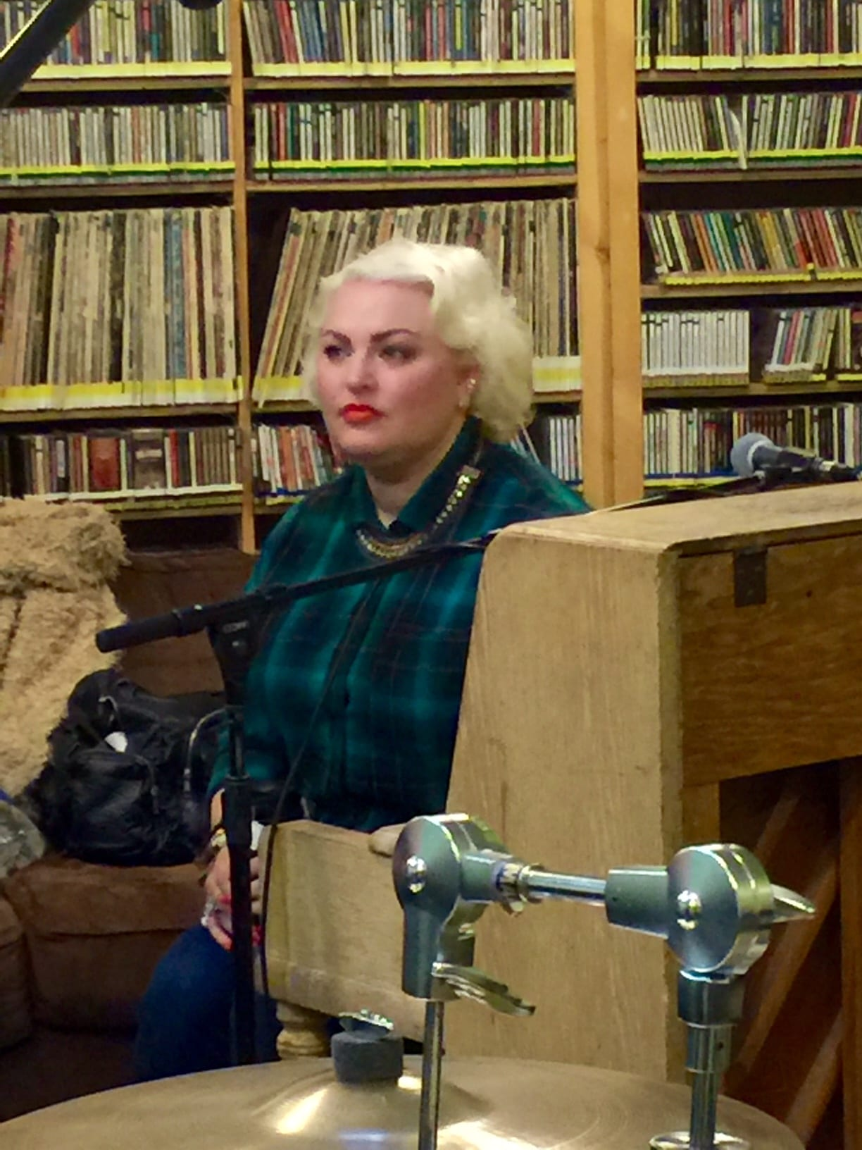 SISTER MERCY live on the KBOO Blues Junction with Dr. Jane