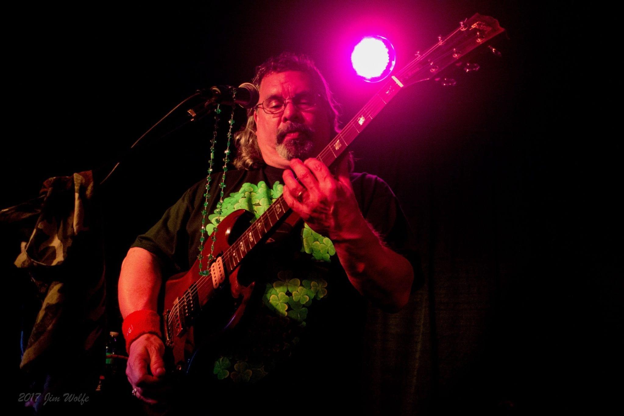 Welcome Scott Garcia – lead guitar